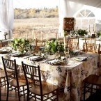natural inspired wedding decor from Naturally Chic | Photography by Tara Whittaker