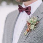 Lake Louise Winter wedding from Naturally Chic www.naturallychic.ca | Darren Roberts Photography