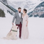 Lake Louise winter boho wedding from Naturally Chic | www.naturallychic.ca | Photo by Darren Roberts Photography