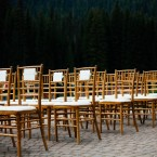 natural elegance wedding at Emerald Lake Lodge by Naturally Chic | Photo by T.LAW Photography