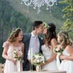 Rustic Mountain Wedding Elegance at Emerald Lake Lodge from Naturally Chic | photo by f8 Photography Inc.