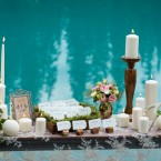 Rustic Mountain Wedding Elegance at Emerald Lake Lodge from Naturally Chic   photo by f8 Photography Inc.