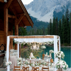 Canadian Rocky Mountain Elopements from Naturally Chic | Photo by f8 Photography Inc.