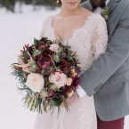 Lake Louise Boho winter wedding | Naturally Chic www.naturallychic.ca| photo by Darren Roberts Photography