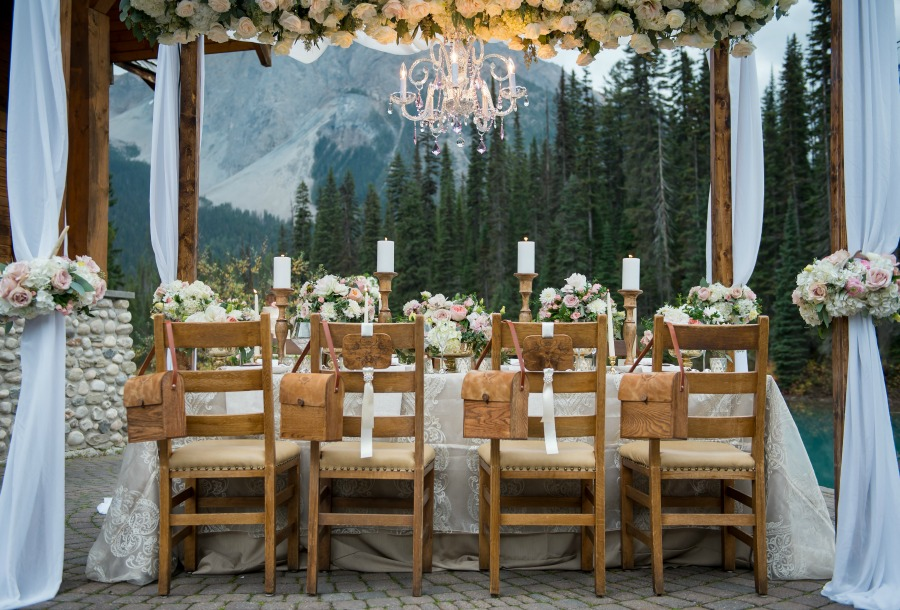 Canadian Rocky Mountain Elopement from Naturally Chic | Photo by f8 Photography Inc.