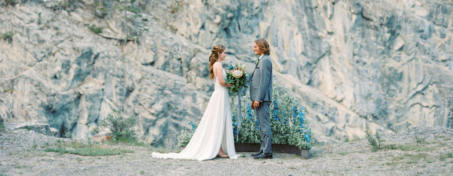 Naturally Chic Banff wedding planner elopements